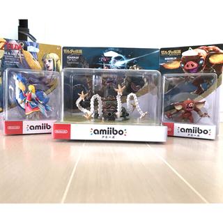 ニンテンドースイッチ(Nintendo Switch)の新品amiiboゼルダの伝説 ガーディアン、ボコブリン、ロフトバード(ゲームキャラクター)