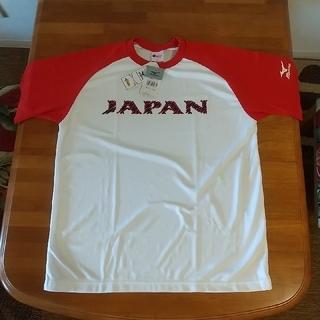 MIZUNO -  日本代表 ジャパンチーム Tシャツ サイズL 陸上競技 オリンピックシャツ