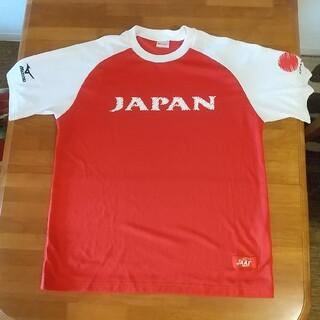 ミズノ(MIZUNO)の日本代表 ジャパンチーム Tシャツ サイズL 陸上競技 オリンピック シャツ(陸上競技)