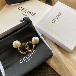 celine - パールピアス セリーヌ風