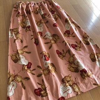 PINK HOUSE - ピンクハウス うさぎ ハート アンジェリックラビッツ スカート