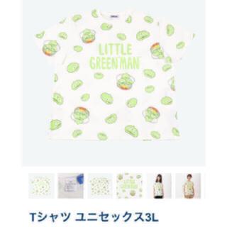 Disney - プニュズ ディズニー Tシャツ 3L⭐︎リトルグリーンメン