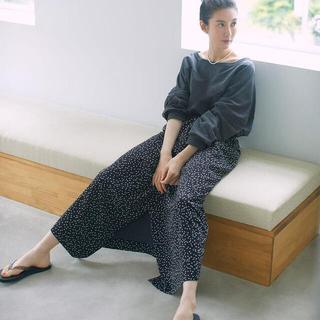 DEUXIEME CLASSE - ともさかりえ ドットスカート Dot skirt