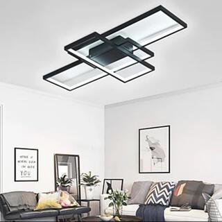 幾何学柄 近代型シーリングライト おしゃれ LED(天井照明)