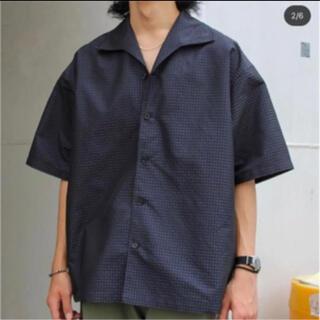 ニードルス(Needles)のNEZU YOHINTEN イタリアンカラーシャツ 根津洋品店(シャツ)