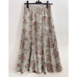 リリーブラウン(Lily Brown)のLily Brown スパンコールマーメイドスカート(S)(ロングスカート)