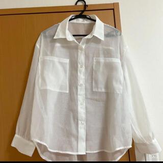 And Couture - 【新品未使用】アンドクチュール♡シースルーシャツ