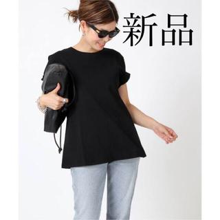 DEUXIEME CLASSE - 新品タグ付  CELERI/セルリ AラインTシャツ ブラック