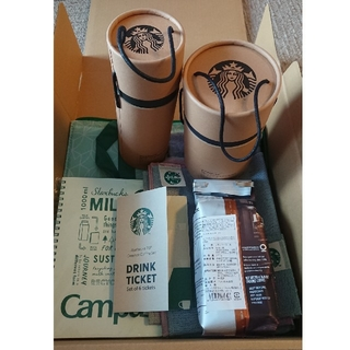 Starbucks Coffee - 抜き取りなし!スターバックス STARBUCKS 25周年 コーヒーセット