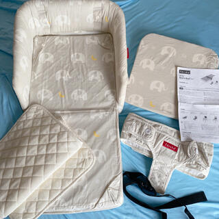 6歳まで使用可能!ファルスカ ベッドインベッド flex 添い寝サポート(ベビーベッド)