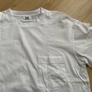 ユニクロ(UNIQLO)のUNIQLO ユニクロ オーバーサイズ ポケット Tシャツ(Tシャツ/カットソー(半袖/袖なし))