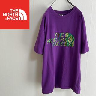 THE NORTH FACE - US規格☆ ノースフェイス 半袖Tシャツ パープル メンズL