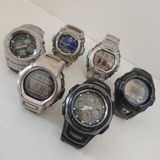 カシオ(CASIO)のG-SHOCK 6個 セット カシオ CASIO ジーショック ジャンク(腕時計(デジタル))