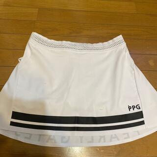 PEARLY GATES - パーリーゲイツ スカート PPG ホワイト