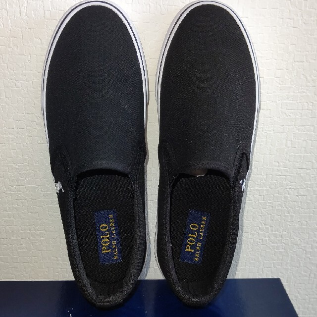 POLO RALPH LAUREN(ポロラルフローレン)のポロラルフローレン /スニーカー /スリッポン /24cm レディースの靴/シューズ(スリッポン/モカシン)の商品写真