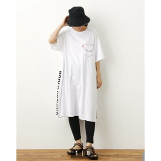 RODEO CROWNS WIDE BOWL - RODEO CROWNS レギンス付きTシャツワンピ新品