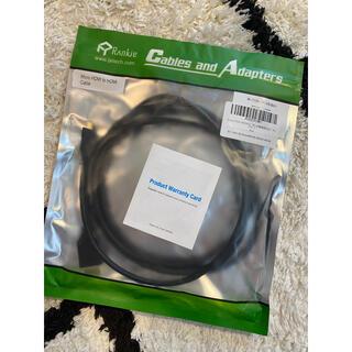 HDMI 変換ケーブル  (タイプD-タイプA) 1.8m(映像用ケーブル)