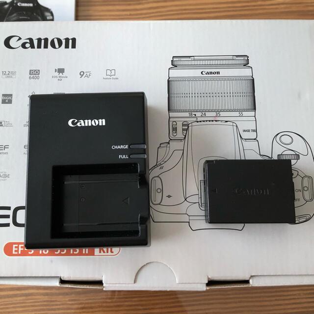 Canon(キヤノン)のEOS Kiss X50 EF-S 18-55mm スマホ/家電/カメラのカメラ(デジタル一眼)の商品写真