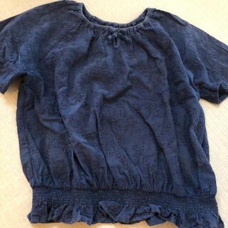 GU - トップス 刺繍ブラウス Tシャツ 150