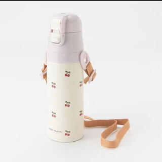 petit main - プティマイン ステンレスタンブラー 水筒 さくらんぼ