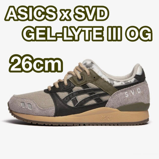 アシックス(asics)のASICS x SVD GEL-LYTE Ⅲ OG US11 29cm(スニーカー)
