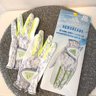 adidas - adidas ゴルフ 両手用 グローブ レディース 19cm