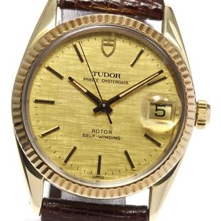 チュードル(Tudor)のチュードル プリンスオイスターデイト 75205 ボーイズ 【中古】(腕時計(アナログ))