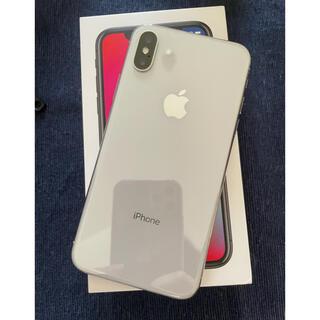 iPhone - iPhone X Silver 256 GB SIMフリー