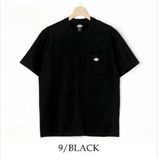 ダントン(DANTON)の新品 DANTON  ダントン tシャツ ブラック 40(Tシャツ/カットソー(半袖/袖なし))