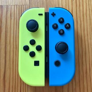 Nintendo Switch - Switch ジョイコン ネオンイエロー×ネオンブルー ニンテンドー