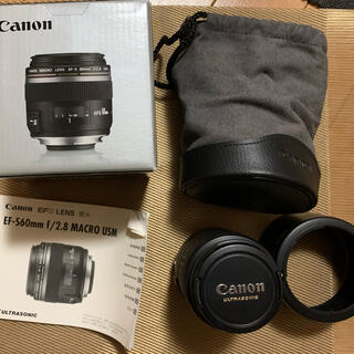 Canon - Canon EFS60mm f/2.8 Macro USM 【付属ポーチ付】