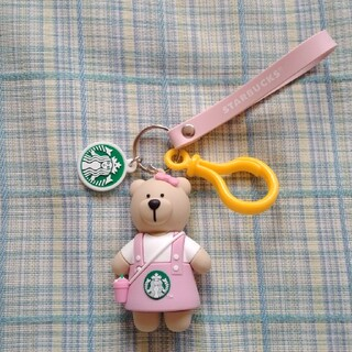 Starbucks Coffee - ベアリスタ キーホルダー