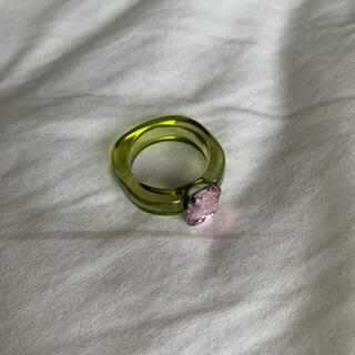 ロキエ(Lochie)の🤍 クリアリング 🧊(リング(指輪))