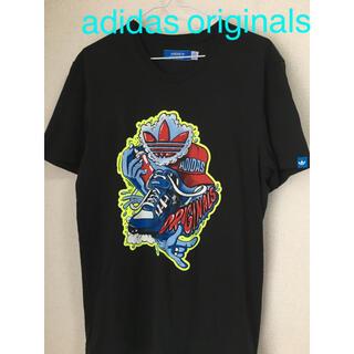 adidas - adidas originals 派手プリント Tシャツ