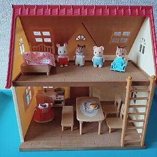 エポック(EPOCH)のはじめてのシルバニアファミリーセット(ぬいぐるみ/人形)