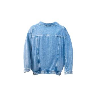 バレンシアガ(Balenciaga)のBALENCIAGA 21ss VAREUSE ブルー ジャケット デニム 36(Gジャン/デニムジャケット)