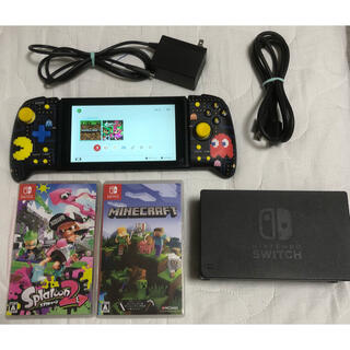 Nintendo Switch - Nintendo Switch 本体 未対策 ソフト セット