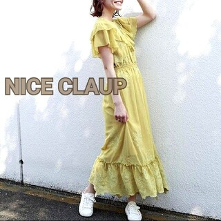 one after another NICE CLAUP - NET限定vintage風ワンピース