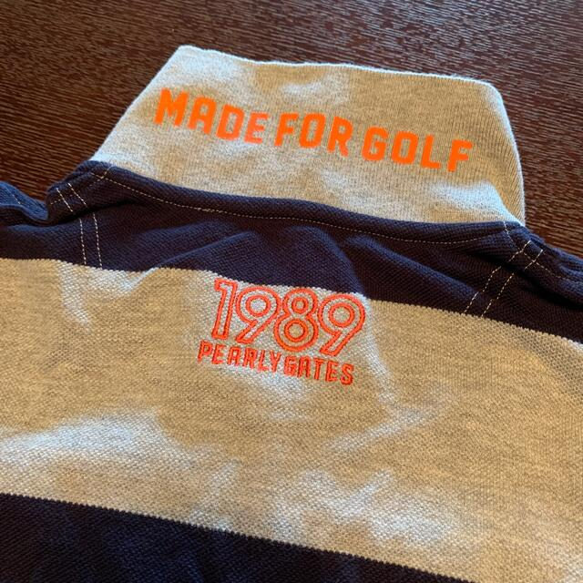 PEARLY GATES(パーリーゲイツ)のパーリーゲイツ★ポロシャツ★サイズ0 スポーツ/アウトドアのゴルフ(ウエア)の商品写真
