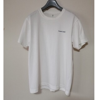 mont bell - モンベル mont-bell ウイックロン Tシャツ カットソー 白