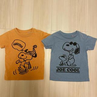 UNIQLO - スヌーピー ユニクロ Tシャツ 100 2枚セット