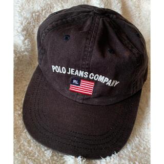 Ralph Lauren - 90s ポロスポーツ polo sport キャップ ブラック レア