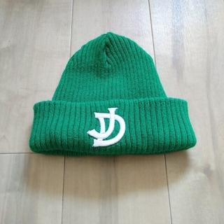 ジエダ(Jieda)のJieDa × override リバーシブルニットキャップ緑(ニット帽/ビーニー)