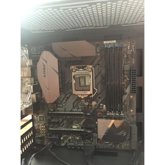 ASUS(エイスース)のz370 mATX + 650w電源 + mATX case スマホ/家電/カメラのPC/タブレット(PCパーツ)の商品写真