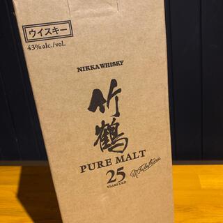 ニッカウヰスキー - 竹鶴 25年 ニッカウイスキー 終売品