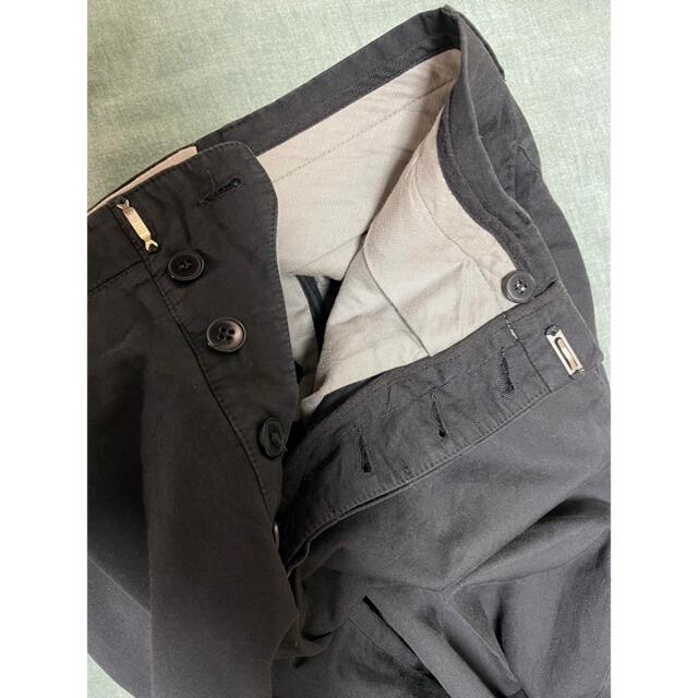 Carol Christian Poell(キャロルクリスチャンポエル)のCarolChristianPoellキャロルクリスチャンポエルスラックス黒46 メンズのパンツ(スラックス)の商品写真