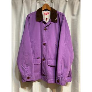 Supreme - Lサイズ Supreme Barn Coat Jacket Purple 紫