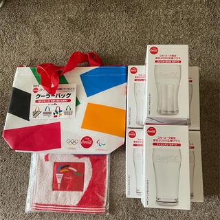 コカコーラ(コカ・コーラ)の東京オリンピック & コカ・コーラ コラボ商品(ノベルティグッズ)