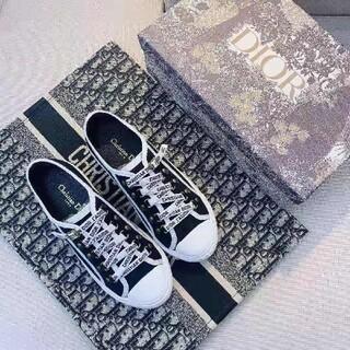 Dior - Dior キャンバス ローカットスニーカー#24cm