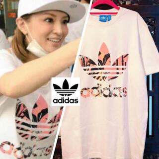 adidas - あゆ着用 アディダス 花柄 Tシャツ ジャージ 和柄 タンクトップ ファーム